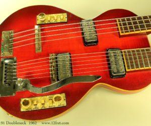 Hofner Model 191 Doubleneck 1962 SOLD