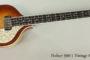 2014 Hofner 500/1 Vintage 64 Bass  SOLD