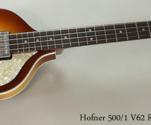Hofner 500-1 V62 Reissue Mersey Violin Bass