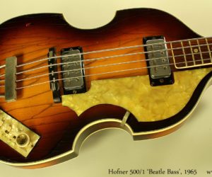 Hofner 500/1 'Beatle Bass' 1965 (consignment) No Longer Available