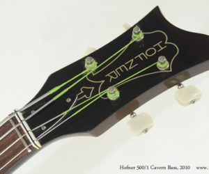 2010 Hofner 500/1 Cavern Bass (consignment) SOLD
