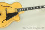 NO LONGER AVAILABLE!!! 2007 Hofner Chancellor Archtop Guitar