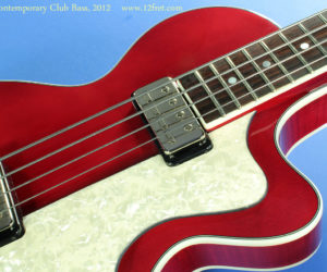 Hofner Contemporary Club Bass  No Longer Available
