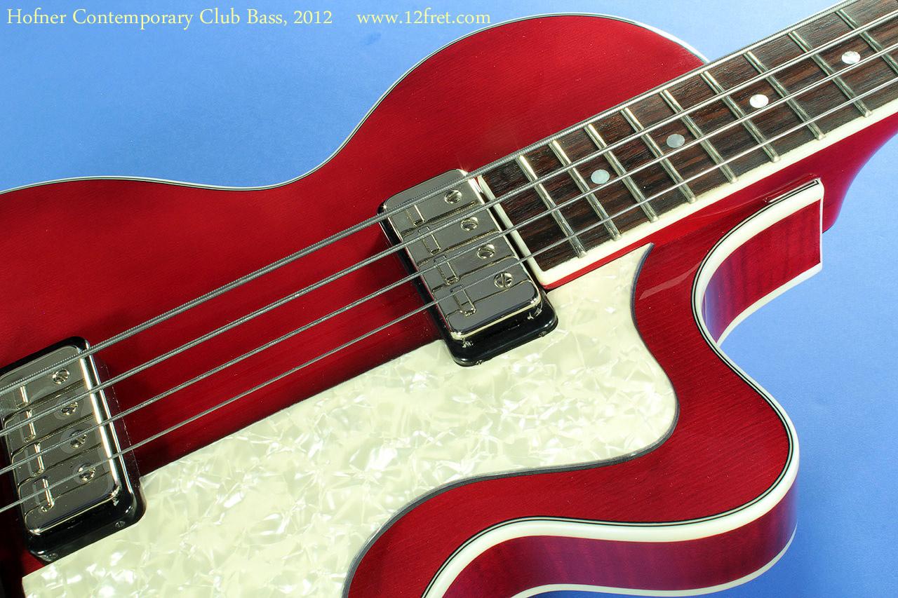 Hofner Contemporary Club Bass Www 12fret Com