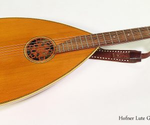 SOLD!!! 1970s Hofner Lute Guitar