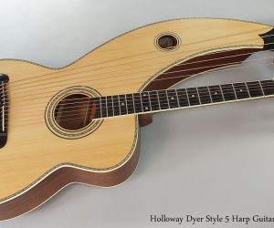 SOLD!!! Holloway Harp Guitar Dyer Style Model 5B