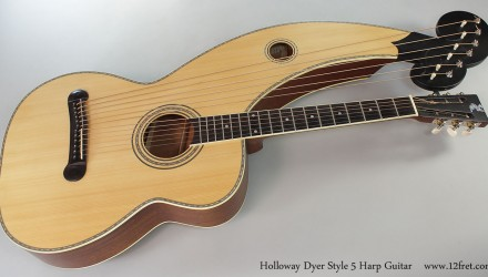 Holloway-Dyer-Style-5-Harp-Guitar-Full-Front-View