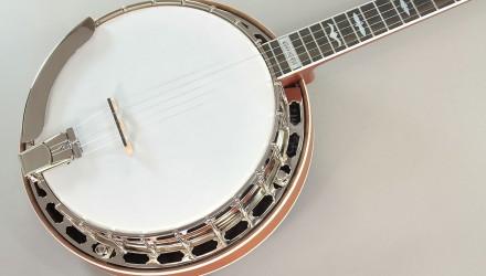 Huber-Workhorse-Mahogany-Banjo-Top