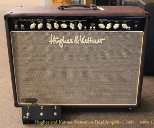 SOLD!!  2007 Hughes and Kettner Statesman Dual Amplifier