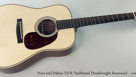 Huss-and-Dalton-TD-R-Traditional-Dreadnought-Rosewood-Full-Front-View