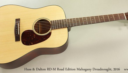 Huss-Dalton-RD-M-Road-Edition-Mahogany-Dreadnought-2016-Full-Front-View