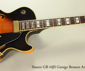 1997 Ibanez GB-10JS George Benson Archtop (SOLD)