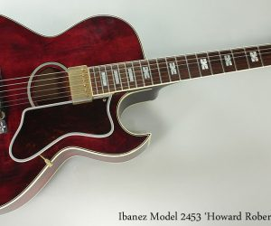 1975 Ibanez Howard Roberts Model 2453 Archtop (SOLD)