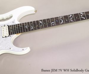 ❌ SOLD ❌ Ibanez JEM 7V WH Solidbody Guitar White, 2005