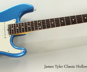 SOLD!! 2007 James Tyler Classic Hollow in Blue