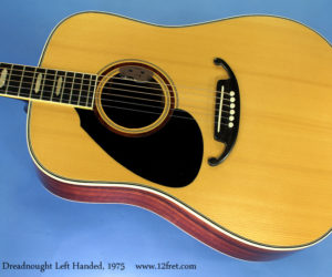 J.K. Lado Dreadnought, Left Handed, 1975 (consignment) No Longer Available