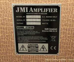 2010 JMI 15 Combo Amplifier No Longer Available