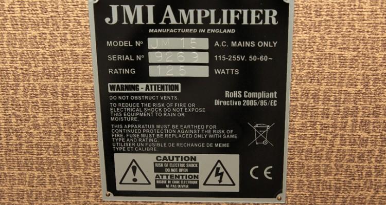 JMI-15-Combo-Amp-plaque