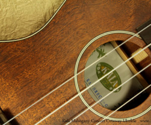 Kala Mahogany Concert Cutaway Ukulele