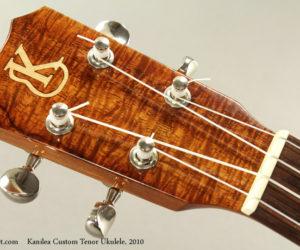 2010 Kanilea Custom Tenor Ukulele  SOLD