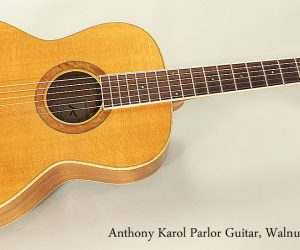 2002 Anthony Karol Parlor Guita (SOLD)