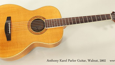 Anthony-Karol-Parlor-Guitar-Walnut-2002-Full-Front-View