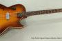 SOLD!!! 1957 Kay K5920 Speed Demon Electric Bass Guitar