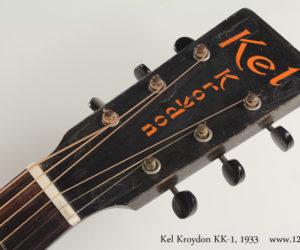 1933 Kel Kroydon KK-1 steel string SOLD