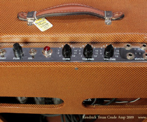2009 Kendrick Texas Crude Harp Amp SOLD