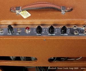 2009 Kendrick Texas Crude Harp Amp SOLD