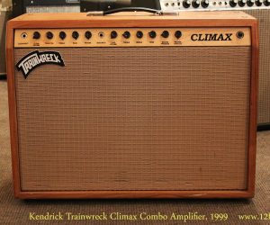 1999 Kendrick Trainwreck Climax Combo Amplifier  SOLD