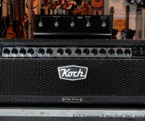 2009 Koch Powertone 2 amplifier head SOLD