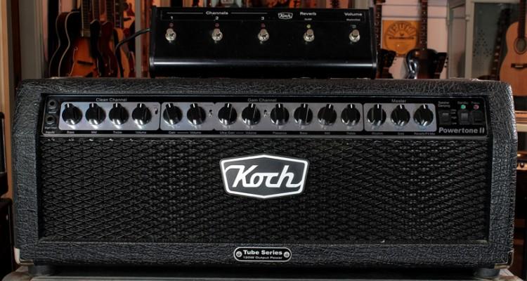 Koch-Powertone-2-Amplifier-Head-front