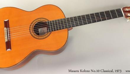 Masaru-Kohno-No.10-Classical-1973-Full-Front-View