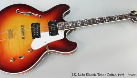 J.K.-Lado-Electric-Tenor-Guitar-1996-Full-Front-View