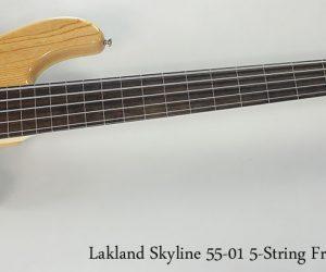 2013 Lakland Skyline 55-01 5-String Fretless Bass (NO LONGER AVAILABLE)