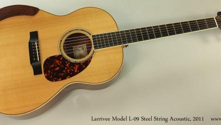 Larrivee-Model-L-09-Steel-String-Acoustic-2011-Full-Front-View