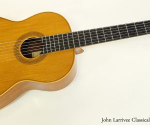 John Larrivee Classical Guitar, 1969