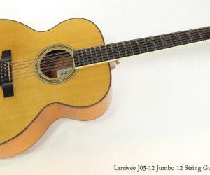 Larrivée J-05-12 Jumbo 12 String Guitar, 1996