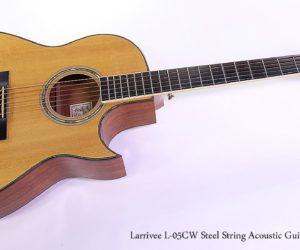 SOLD!!! 1995 Larrivee L-05CW Steel String Acoustic Guitar
