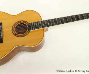 William Laskin 12-String Guitar, 1976
