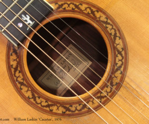 1976 William Laskin Cactus Guitar  SOLD