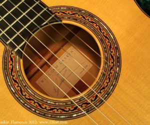 William Laskin Flamenco Guitar 2012  SOLD