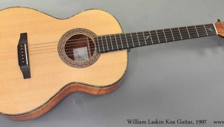 William-Laskin-Koa-Guitar-1997-full-front-view