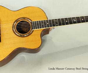 SOLD!!! 1980 Linda Manzer Cutaway Steel String Guitar