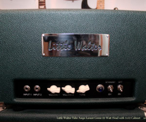 Lavant Green Little Walter Tube Amps 22 Watt Head with 1x12 Cabinet  SOLD
