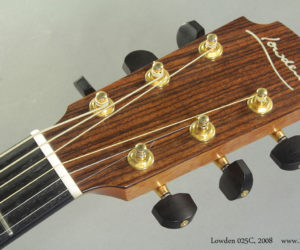 2008 Lowden 025C Natural (consignment)  SOLD