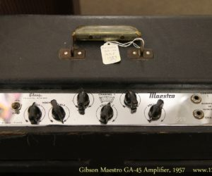 ❌SOLD❌ Gibson Maestro GA-45 Amplifier, 1957