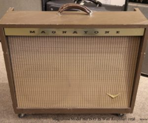 Magnatone Model 260 2x12 35 Watt Amplifier, 1958
