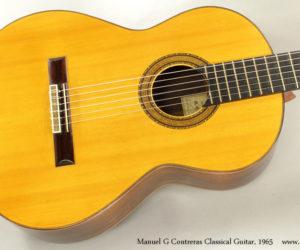 1965 Manuel G Contreras Classical Guitar SOLD